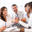 Business handshake — Stock Photo #27639787