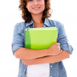 Happy female student — Stock Photo #27639877