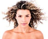 Beauty female portrait — Stock Photo