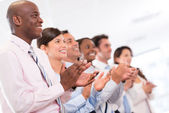 Successful business group — Stock Photo