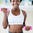 Woman at the gym — Stock Photo #28249409