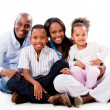 Happy family portrait — Stock Photo #28249417