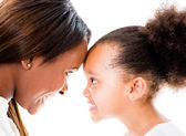 Loving mother and daughter — Stock Photo