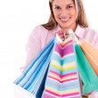 Woman with shopping bags — Stock Photo #29127495