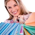 Female shopper — Stock Photo #29127621