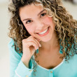 Casual woman smiling — Stock Photo #29575313
