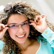 Womwearing glasses — Stockfoto #29575621