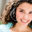 Stok fotoğraf: Womat call center