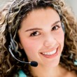 Stock Photo: Customer service