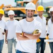 Group of construction workers — Stock Photo #29802605