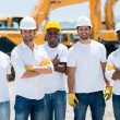 Men at a construction site — Stock Photo #29804917
