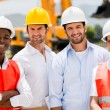 Stock Photo: Group of construction workers