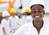 Happy male engineer — Stock Photo
