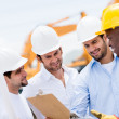 Engineers at a construction site — Stock Photo #29880303