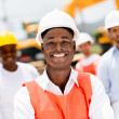 Stock Photo: Engineer at building site