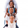 Beautiful family smiling — Stock Photo #29880863