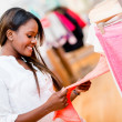 Foto Stock: Female shopper