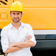 Man working in a construction — Stock Photo #29931625