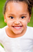 Portrait of an African American girl — Stock Photo