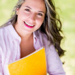 Happy female student — Stock Photo #30147487