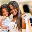 Mother and daughter shopping — Stock Photo #30147963