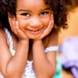 Sweet little girl — Stock Photo