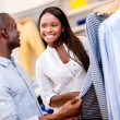 Happy couple shopping — Stock Photo #30148329