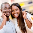 Happy shopping couple — Stock Photo #30148841