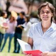 Stock Photo: Happy university student