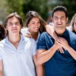 Stock Photo: Happy group of people