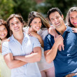 Casual group of people — Stock Photo #30214663
