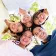 Group of friends together — Stock Photo