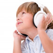 Boy listening to music — Stock Photo #30392367