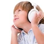 Boy listening to music — Stock Photo #30392367
