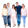Happy group of friends — Stock Photo #30393725