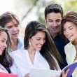 Happy group of students — Stock Photo #30393781