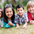 Happy group of kids — Stock Photo #30447365