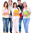 Happy group of students — Stock Photo #30447653