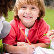 Happy school boy — Stock Photo #30592447