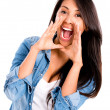 Woman screaming — Stock Photo #30880821