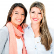 Beautiful sisters smiling — Stockfoto