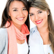Beautiful girl friends — Stock Photo