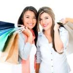 Happy shopping women — Stock Photo #30974025