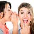 Stock Photo: Women gossiping