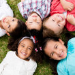 Stock Photo: Group of kids