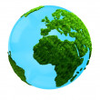 3D planet Earth — Stock Photo