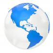 Foto de Stock  : 3D world map