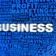 Stock Photo: 3D Business mosaic