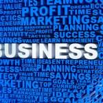 3D Business mosaic — Stock Photo