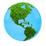 3D world map — Stock Photo